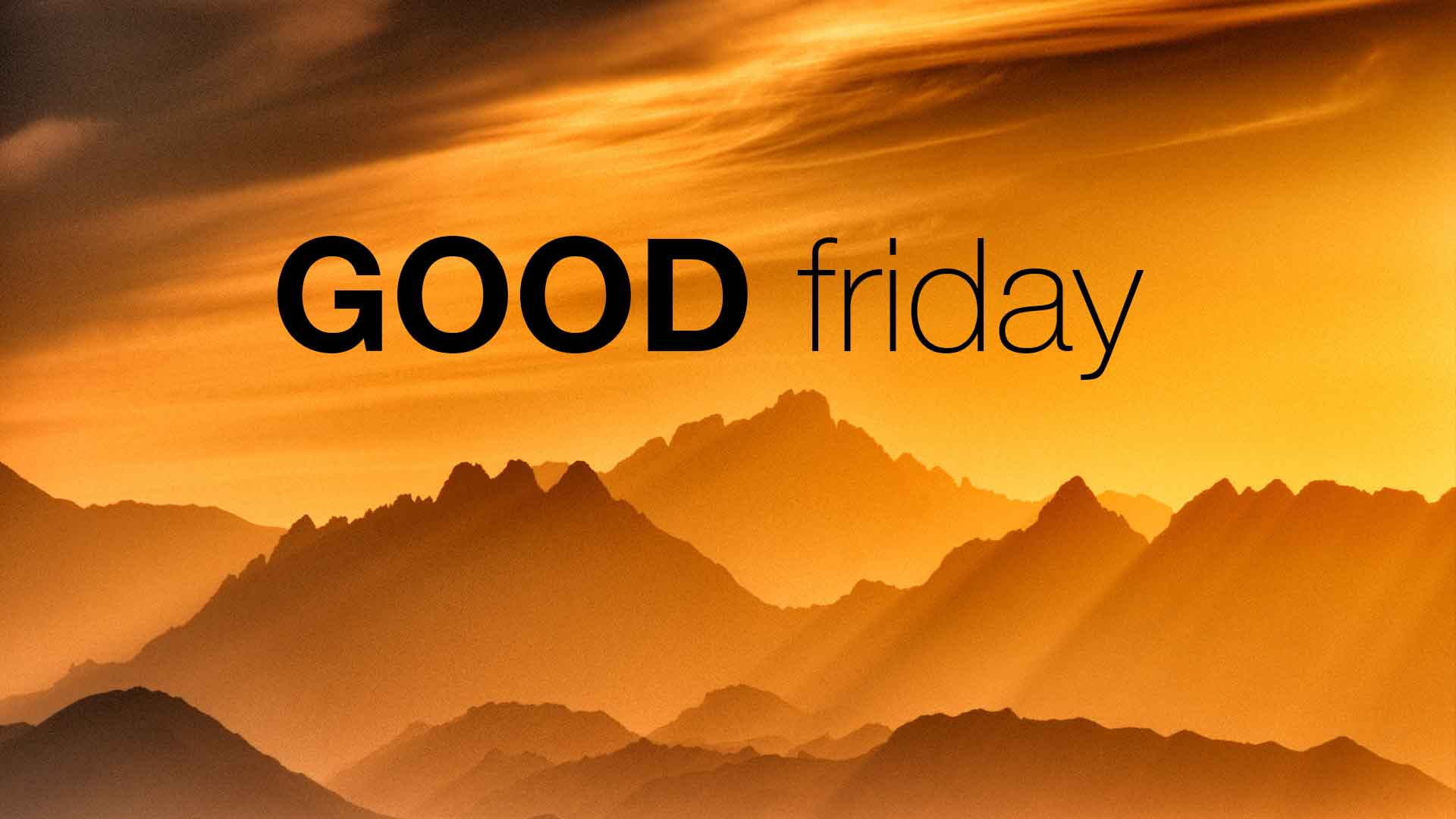 Calendar Good Friday : Today is good friday celebrating easter weekend healthy